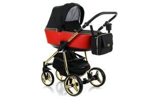 Универсальная коляска 2 в 1 Adamex Reggio Limited Chrom Y804