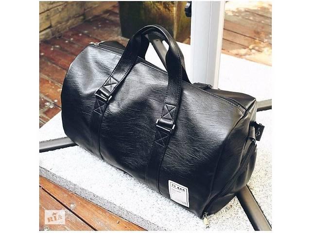 7ba10aede73b Мужская кожаная сумка T3 BAG черная - Сумки, кошельки в Харькове на ...