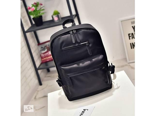 478a599002e5 Стильный мужской кожаный рюкзак Черный - Сумки, кошельки в Днепре ...