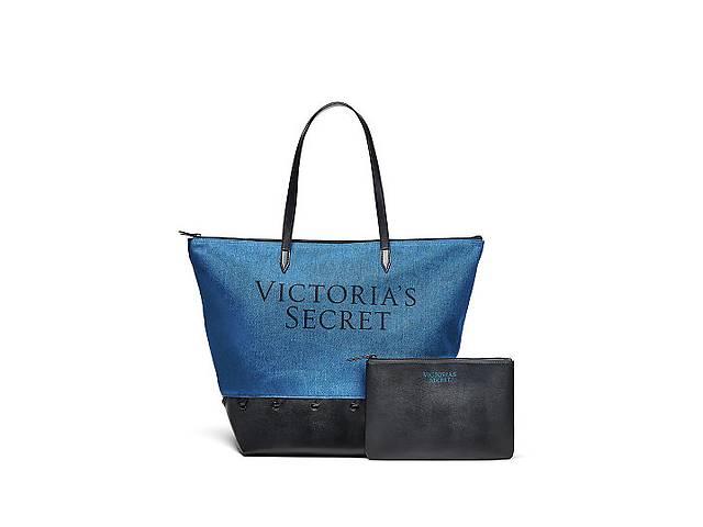 Сумка с косметичкой Victorias Secret, пляжная,оригинал,шоппер- объявление о продаже  в Киеве