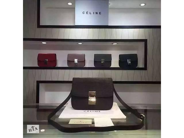 cf9a6b7f803b Сумка женская Celine Classic Box, кожа, Франция, оригинал- объявление о  продаже в