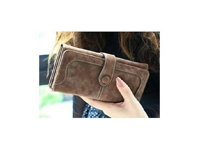 продам Жіночий червоний гаманець з нубука Baellerry Unique. Самий