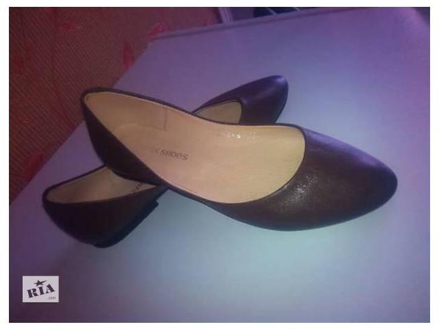 балетки кожаные- объявление о продаже  в Черкассах