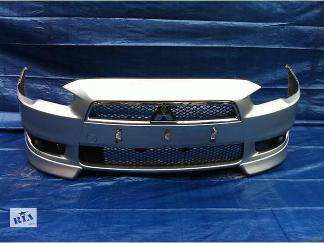бу Бампер передний для  Mitsubishi Lancer X в Львове