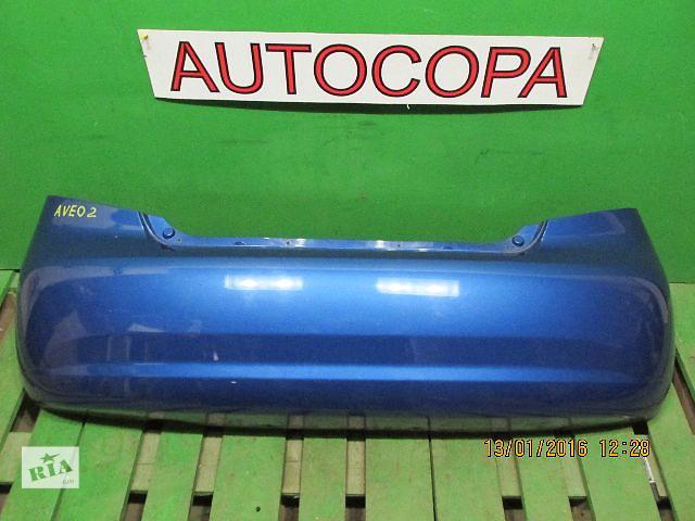 Бампер задний для легкового авто Chevrolet Aveo- объявление о продаже  в Львове