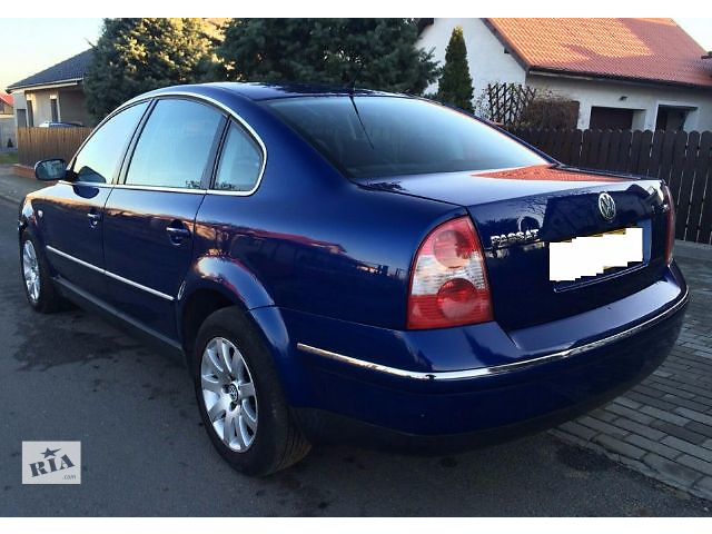 бампер задний для седана Volkswagen B5, 2003- объявление о продаже  в Львове