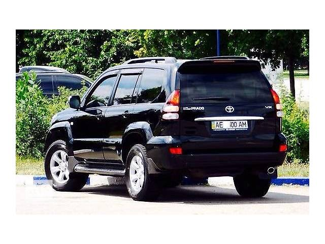 Бампер задний для Toyota Land Cruiser Prado 120- объявление о продаже  в Львове