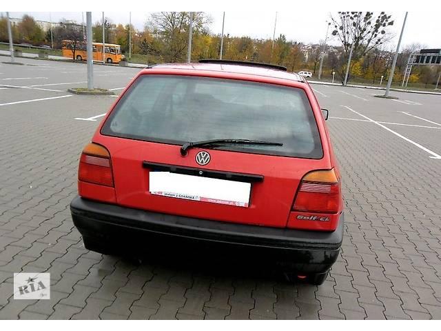 Бампер задний для Volkswagen Golf III 1996- объявление о продаже  в Львове