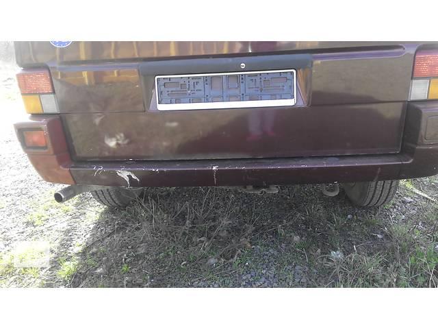 продам  Бампер задний Volkswagen Caravella Фольсваген Т 4 (Транспортер, Каравелла) бу в Ровно