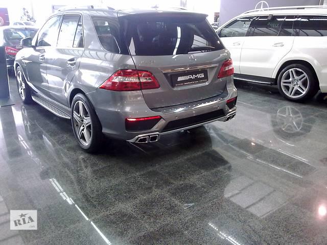 купить бу Бампер задний Легковой Mercedes ML 63 AMG--W166 в Киеве