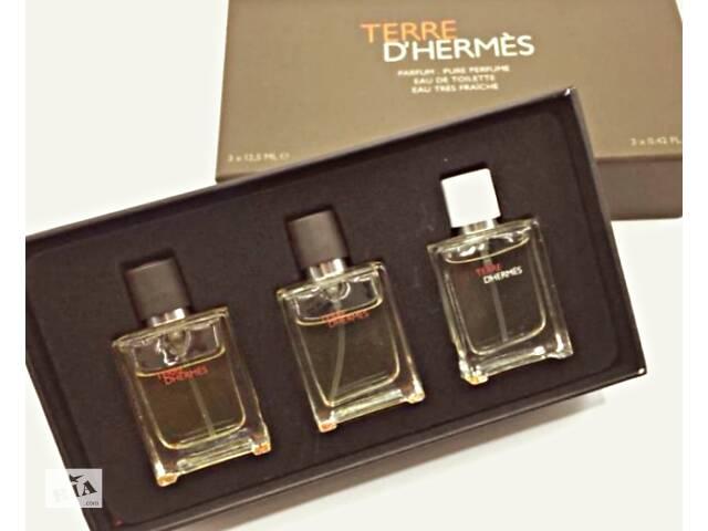 купить бу Чоловічий парфюмованій подарунковий набір Terre D& # 039; Herm& egrave; s в Вінниці