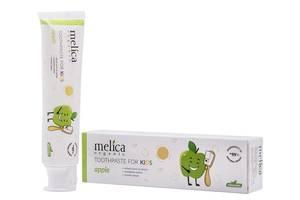 Детская зубная паста Melica Organic  Яблоко , 100 мл