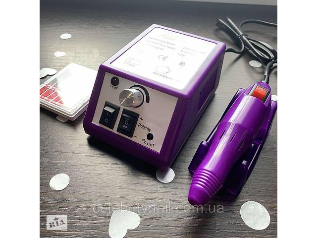 купить бу Фрезер для маникюра Lina Mercedes 2000 (фиолетовый) в Харькове