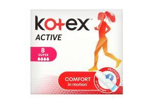 Гигиенические тампоны Кotex Active Super, 8 шт