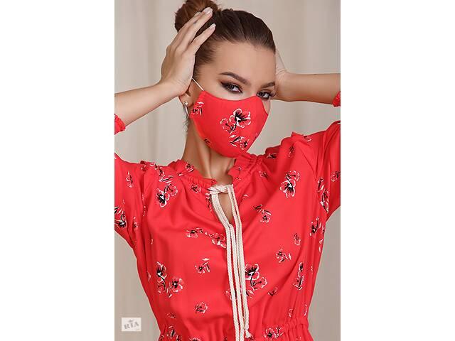 бу Багаторазова дизайнерська захисна маска з кишенею в Харкові