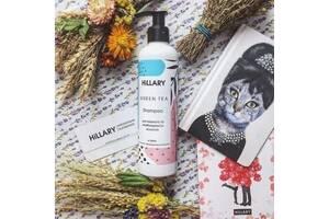 Натуральний шампунь для жирного та комбінованого волосся Hillary Shampoo Green Tea 250 мл SKL13-131390