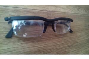 Очки-лупа для зрения Dial Vision с регулировкой линз от -6 дом +3