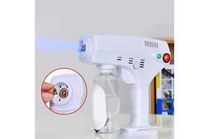 Портативный распылитель для волос, нано-стерилизатор, паровой пистолет для дезинфекции и увлажнения Nano Blue Magic X...