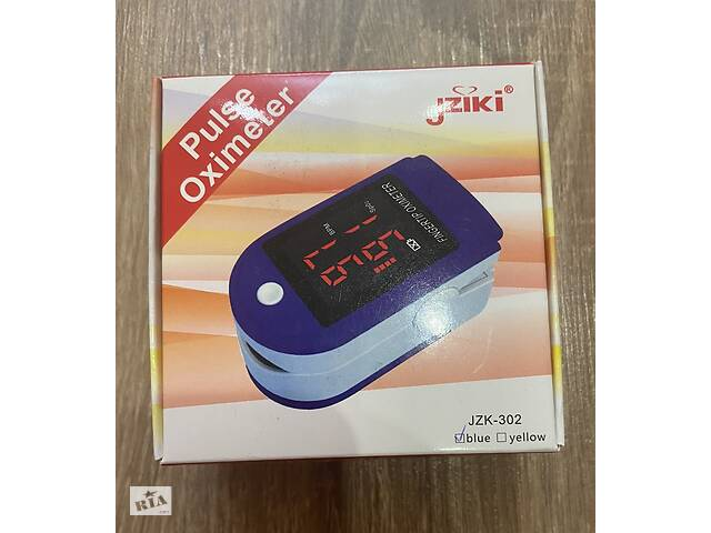 Пульсоксиметр медицинский Pulse Oximeter Jziki JZK-302 оригинал сертифицирован / пульсометр оксиметр кислород