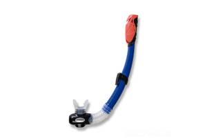 Трубка для плавания детская Intex 55923 Hyper-Flow Jr. Snorkels от 3 лет Синяя (int_55923-1)