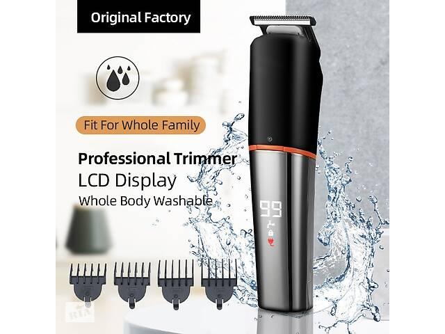 продам Триммер профессиональный 4D Shaver LCD Grooming Kit водонепроницаемый IPX6 бу в Харькове