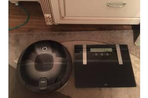 Цифровые многофункциональные весы напольные