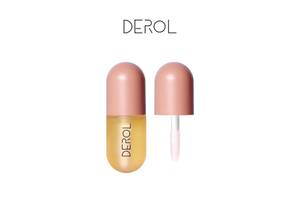 Увлажняющий пухлый блеск для губ Derol SKL11-278548