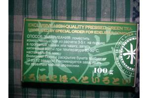 Зелений чай пресований