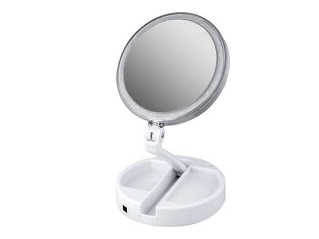 Зеркало косметическое Kronos FOLD AWAY LED 10x zoom (gr_007257)- объявление о продаже  в Киеве
