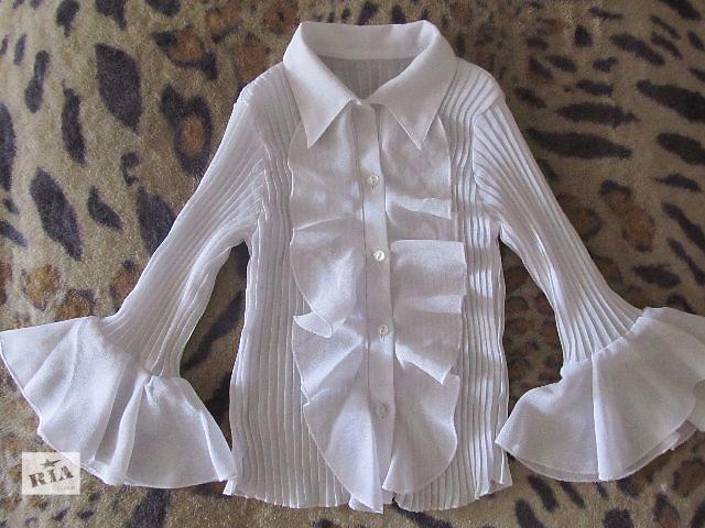 продам Белая блузка 110р бу в Дружковке