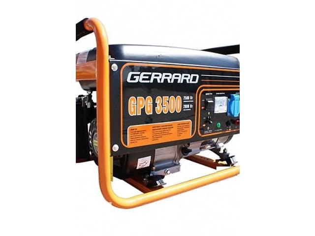 продам Бензиновая однофазная электростанция Gerrard GPG3500 бу в Киеве