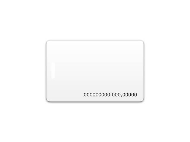 бу Бесконтактная пластиковая RFID-карта с номером с чипом в Одессе