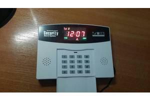 Беспроводная GSM сигнализация с цв. экраном,охрана дом,офис,гараж,дача