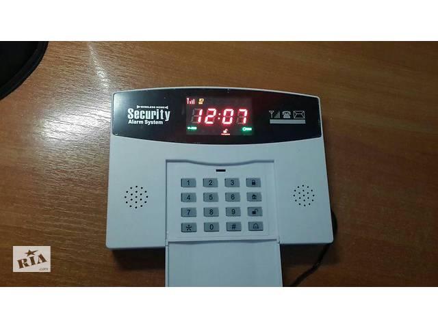 продам Беспроводная GSM сигнализация с цв. экраном,охрана дом,офис,гараж,дача бу в Мелитополе