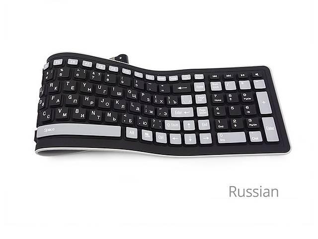 купить бу Беспроводная силиконовая клавиатура РУС ЯЗ в Днепре (Днепропетровск)