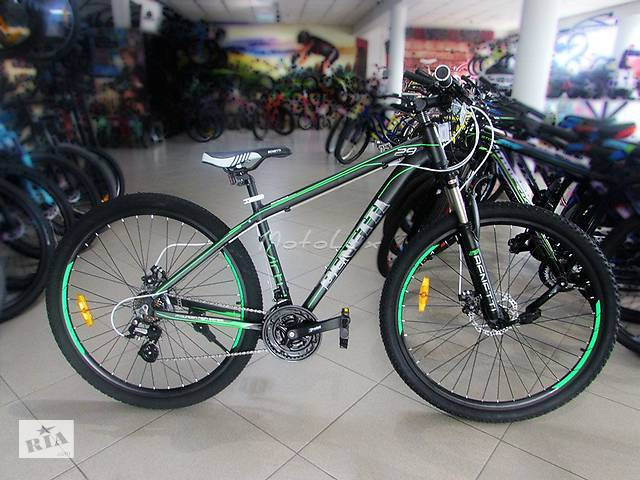 бу Горный велосипед Benetti Special Virtu DD, колесо 29, рама 18, black n green в Мукачево
