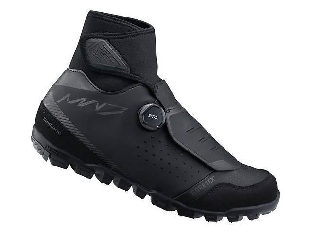 продам Обувь Shimano SH-MW701 зимняя, Чёрный (47) бу в Києві
