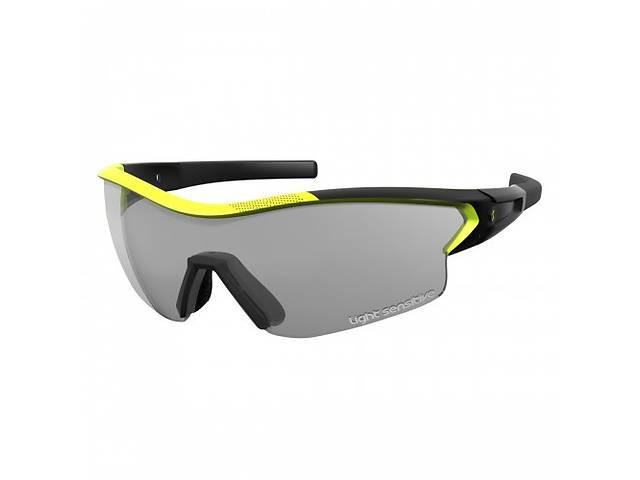 купить бу Спортивные очки SCOTT LEAP LS  black matt/neon yellow grey ls + clear в Одессе