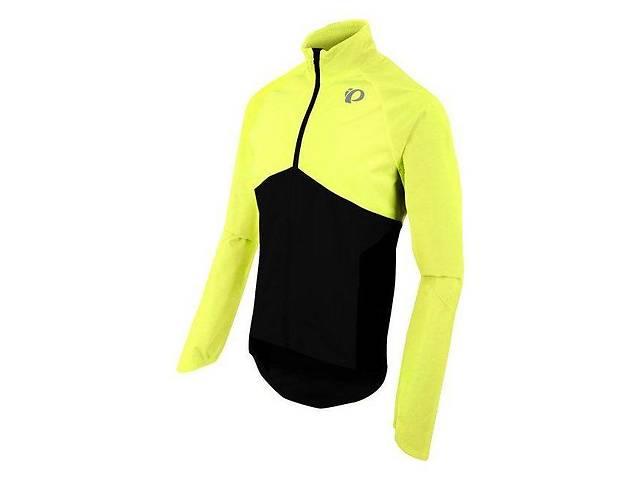 купить бу Велокуртка-дождевик PEARL iZUMi Select Barrier WxB (Жёлто-чёрный, XXL) в Одессе