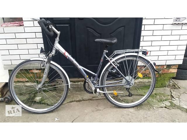 """бу Велосипед дамка Alu Rex 28"""" из Европы б/у в Мелитополе"""