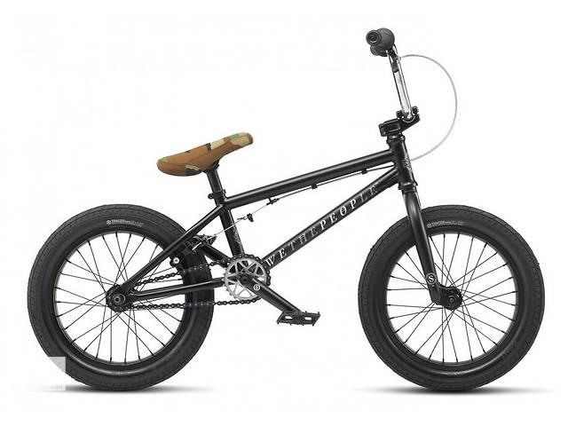 купить бу Велосипед WeThePeople BMX SEED 16 Matt black 2019 в Киеве