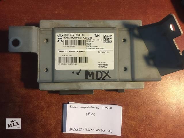 продам Блок управления радио  Acura MDX   39820-stx-a430-m1 бу в Одессе