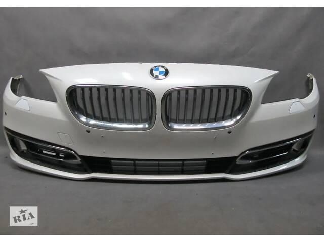 BMW f10 Бампер передний в сборе(ноздри, ,нижние ришоткы)- объявление о продаже  в Львове