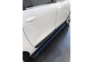 Боковые пороги Maya Blue (2 шт., алюминий) Range Rover Sport 2005-2013 гг. / Боковые пороги Ленд ровер