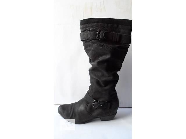 купить бу Брендовые! Качественные и удобные кожаные сапоги 42 размер в Калуше