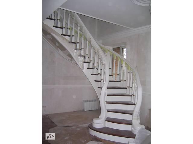 бу Эксклюзивные лестницы из дуба и ясеня.Виллы, коттеджи, дома. в Одессе