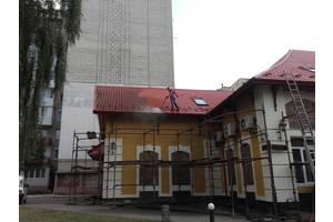 Мытье крыши и других конструкций