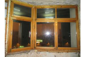 б/у Деревянные окна