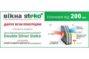 Нові Металопластикові вікна STEKO