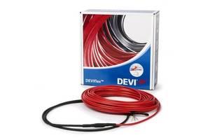Тепла підлога Deviflex 10T двожильний кабель з суцільним екраном, 240W, 1.6 м. кв.(140F1408)